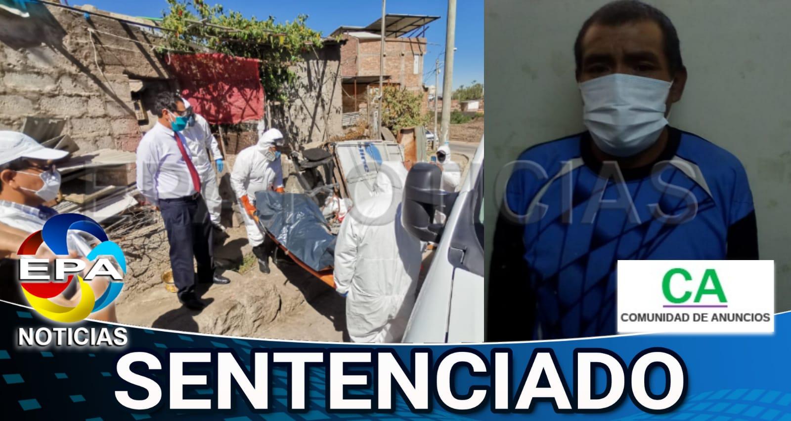 Arequipa. Hijo que agredió a hijo fue sentenciado a servicio comunitario