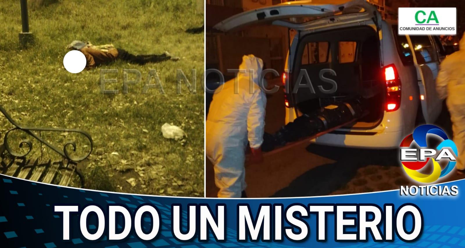 Arequipa. Dos varones aparecen muertos en parques