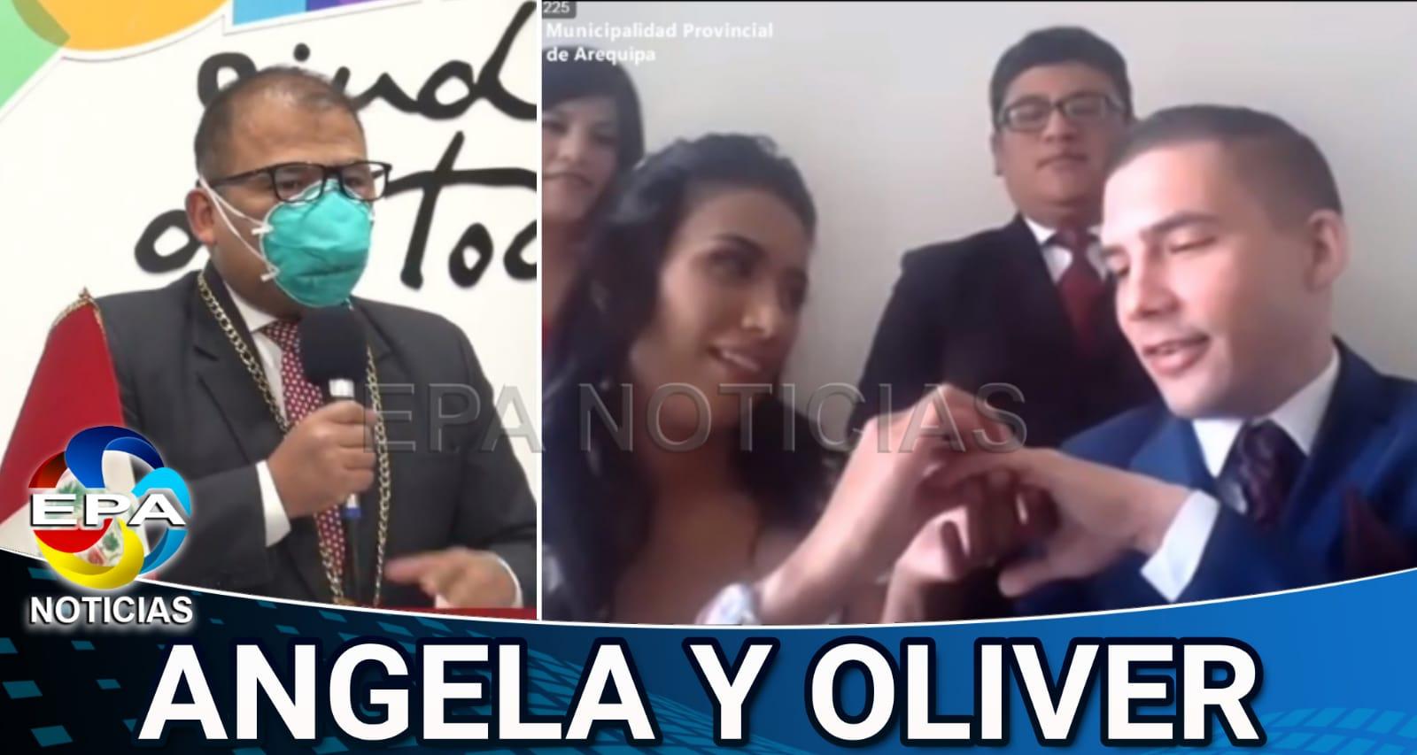 Arequipa. Primer matrimonio civil