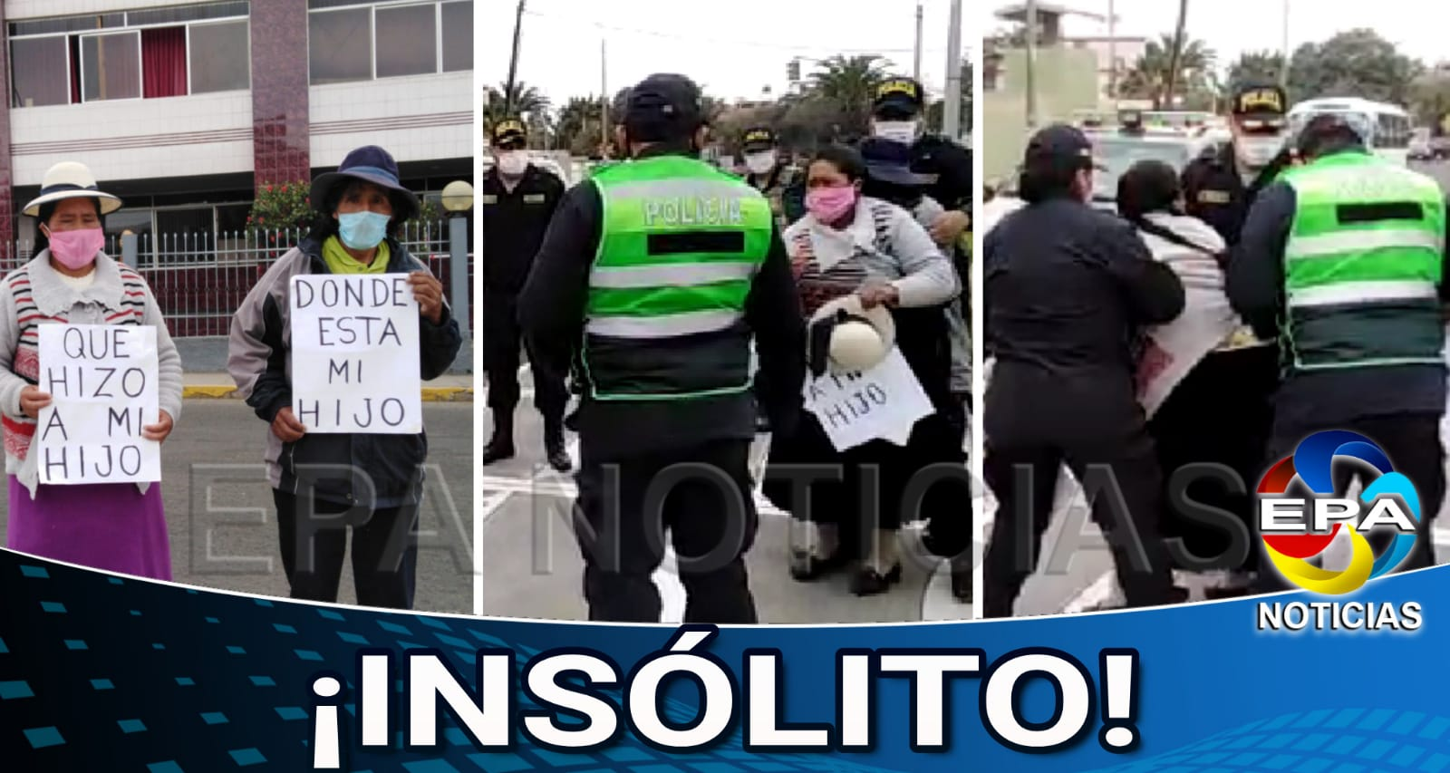 Tacna. Madre busca a su hijo desaparecido