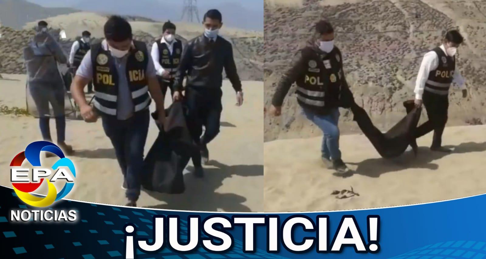 Trujillo. Dos hermanitos aparecieron muertos y enterrados en un descampado.
