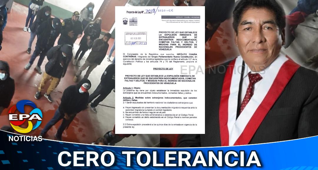 Nacional.-Hipolito-Chaina-propone-una-ley-para-expulsar-a-extranjeros-que-cometan-delitos